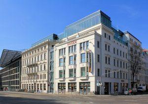 Messehaus Weißes Haus Leipzig (Hotel Innside)