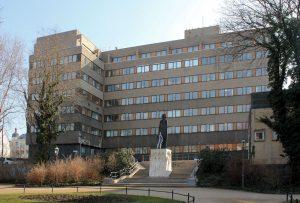 Bürogebäude des Ministeriums für Staatssicherheit der DDR Leipzig