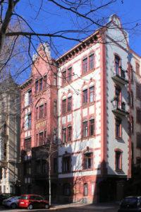 Wohnhaus Mozartstraße 8 Leipzig