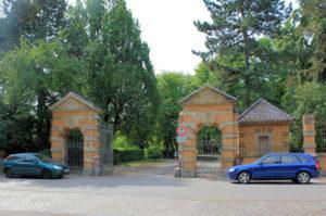Toranlage des Neuen Johannisfriedhofs Leipzig