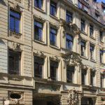 Oelßners Hof Leipzig, Fassade Ritterstraße