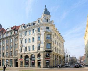 Wohn- und Geschäftshaus Otto-Schill-Straße 1 Leipzig