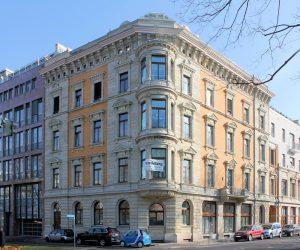 Palais Wollf Leipzig (Zustand Februar 2018)