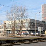 Ehem. Verwaltungsgebäude VEB Chemieanlagenbau Leipzig (Anbau, Zustand Februar 2018)