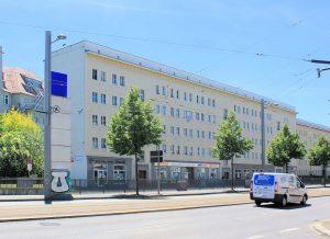 Wohnbebauung Ranstädter Steinweg 1 bis 17 Leipzig