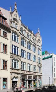 Geschäftshaus Ritterstraße 9-13 Leipzig