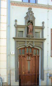 Portal Rosentalgasse 7 Leipzig