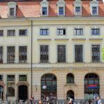 Städtisches Kaufhaus Leipzig, ehem. Städtische Bibliothek