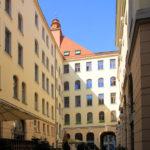 Städtisches Kaufhaus Leipzig, Hof