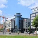 Zentrum-Ost, Telekom-Verwaltung
