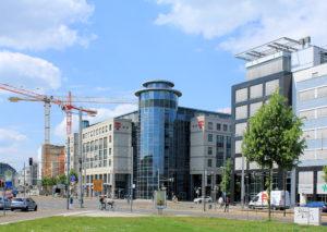Telekom-Verwaltung am Johannisplatz Leipzig