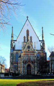 Thomaskirche zu Leipzig, Westportal