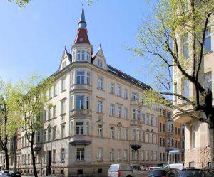 Wohnhaus Tschaikowskistraße 27 Leipzig