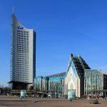 Universität Leipzig, Neues Augusteum, Paulinum und City-Hochhaus