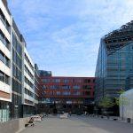 Universität Leipzig, Hof mit Institutsgebäude