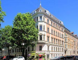 Wohnhaus Tschaikowskistraße 18 Leipzig