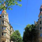 Wohnhäuser Waldstraße 52 und 54 Leipzig