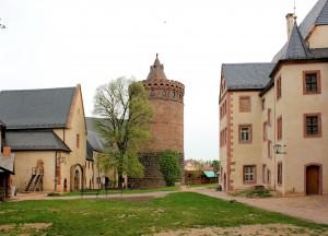 Leisnig, Burg Mildenstein, Burghof