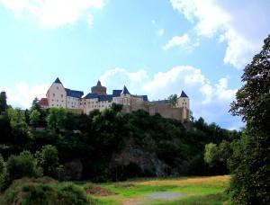 Burg Mildenstein in Leisnig im Landkreis Mittelsachsen