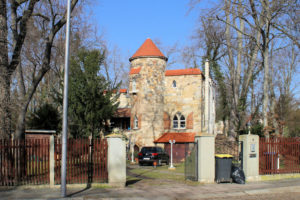 Villa Karl-Schurz-Straße 4 Leutzsch (ehem. Gartenhaus Dr. Hahn)