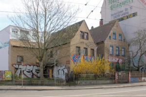 Wohnhäuser Erich-Zeigner-Allee 1/1a Lindenau