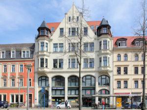 Wohn- und Geschäftshaus Lindenauer Markt 18 Lindenau