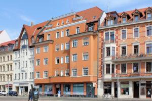 Wohn- und Geschäftshaus Lindenauer Markt 12 Lindenau