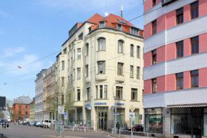 Wohn- und Geschäftshaus Rietschelstraße 2 Lindenau