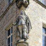 Rathaus Lützen, Statue König GUstaqv II. Adolf von Schweden