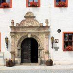 Rathaus Marienberg, Portal
