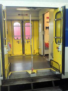 Erschwerter Zustieg in die Züge der MItteldeutschen Regiobahn