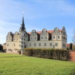 Der Johannbau des ehem. Residenzschlosses in Dessau
