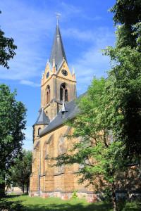 Ev. Pfarrkirche in Friedersdorf