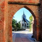 Burgtor und Marienkirche in Eilenburg