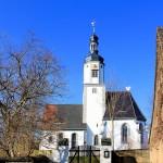 Kirche in Neichen bei Trebsen