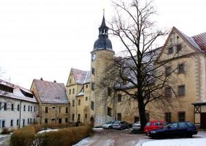 Hof des Schlosses Nossen