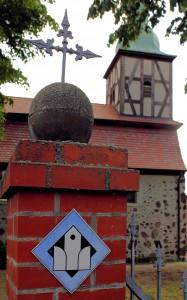 """""""Offene Kirche"""" in Garitz bei Zerbst, Sachsen-Anhalt"""