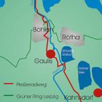 Abschnitt Neukieritzsch - GroßdeubenSchleußig