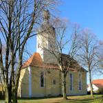 Ev. Pfarrkirche in Pödelwitz