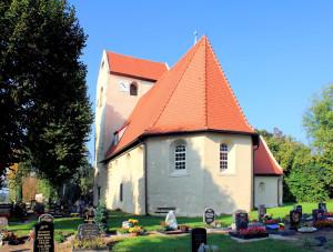 Kirche in Radefeld am Äußeren Grünen Ring Leipzig