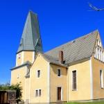 Die Kirche in Trautzschen