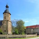 Kirche und Rittergut in Zangenberg