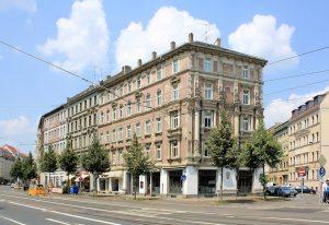 Wohnhaus Dresdner Straße / Kapellenstraße Reudnitz