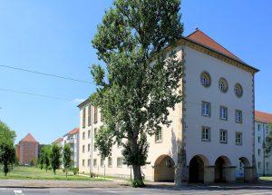 Martin-Andersen-Nexö-Heim Reudnitz, Kopfbau