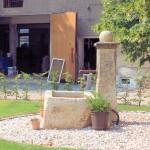 Brunnen auf dem Hof des Rittergutes Kössern