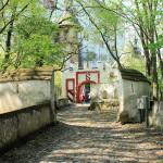 Zwinger des Schlosses Rochsburg