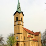 Kath. Herz-Jesu-Kirche in Roitzsch