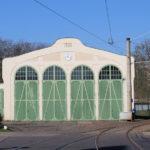 Schkeuditz, Straßenbahndepot