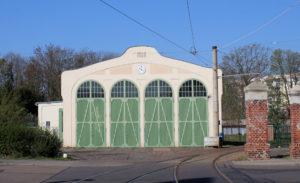 Straßenbahndepot Schkeuditz