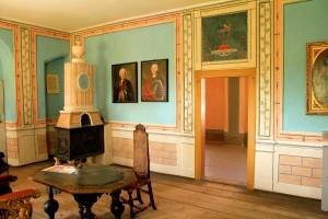 Das Friedenszimmer im Schloss Altranstädt